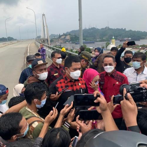 Peresmian Jembatan Achmad amins