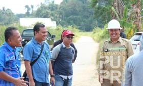 Lanjutan Peningkatan dan Normaliasasi Anak Sungai Handil Kopi
