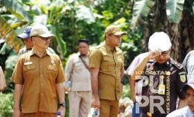 Pembangunan Saluran Irigasi Sekunder dan Tersier Daerah Irigasi Sambutan Kec. Sambutan