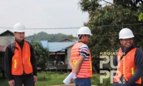 Pembuatan Jembatan Muang Bayur Kec. Samarinda Utara